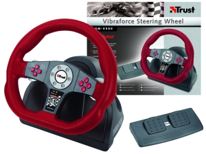 Trust Vibraforce Steering Wheel GM-3300